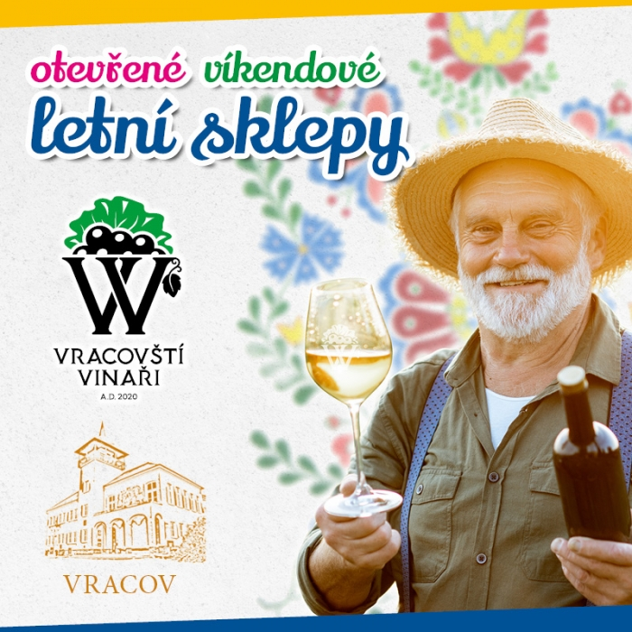 Vracovští vinaři otevírají své sklepy! Po celé léto, od pátku do neděle.